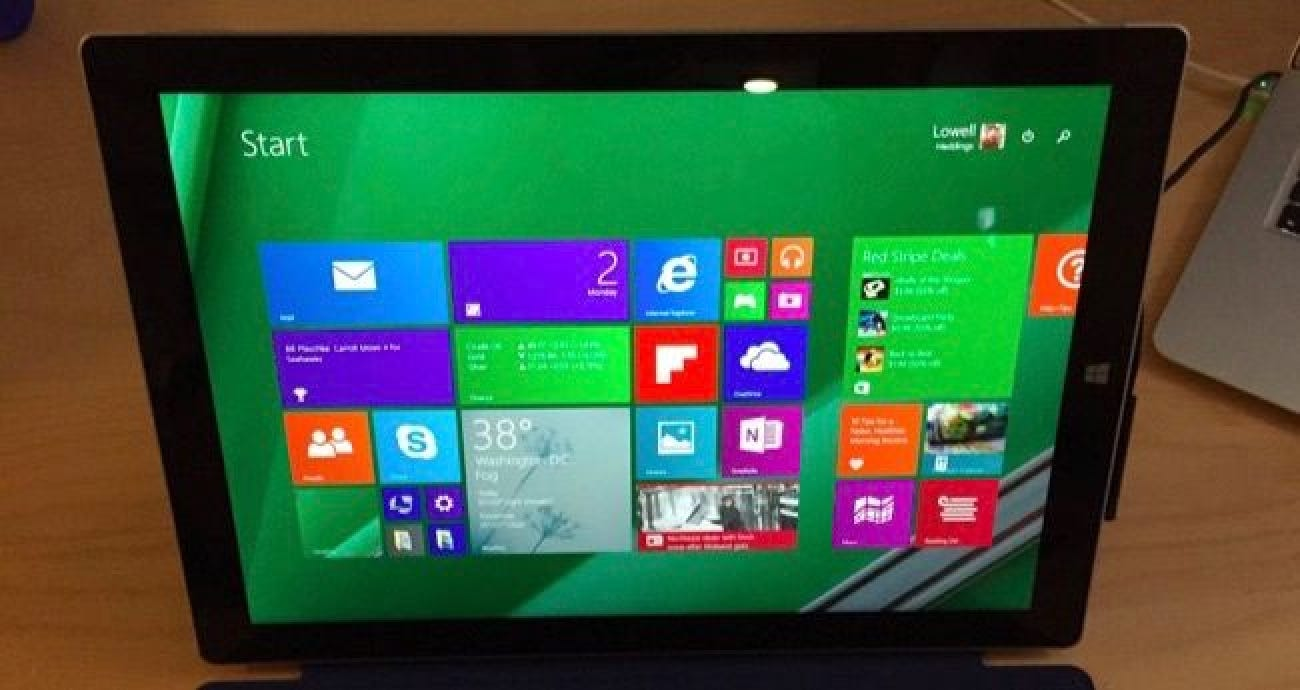 how to reload windows 8 1 on your surface pro tablet