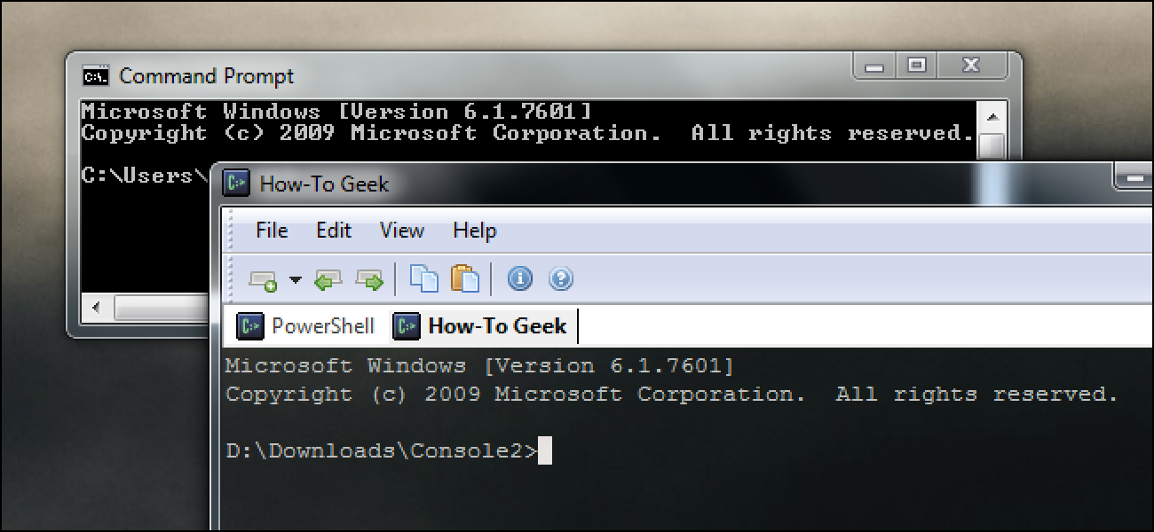 The Command Prompt is Outdated: 2 Command Prompt