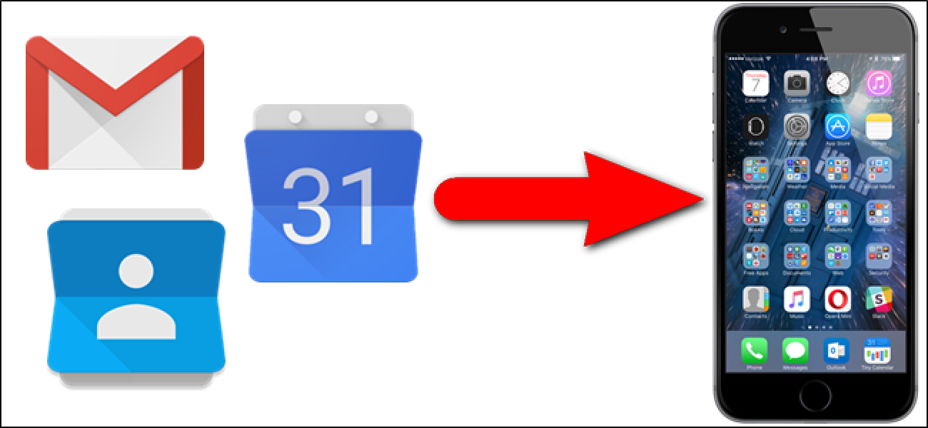 how to add google calendar to iphone how to add your gmail contacts and calendar to 9604