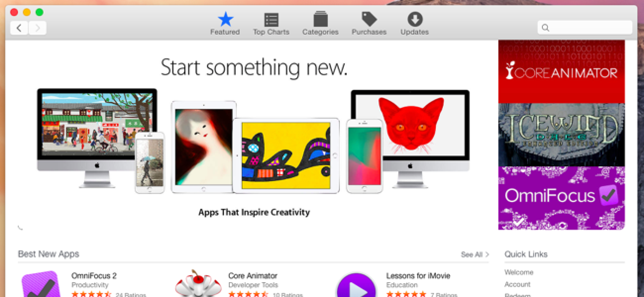 Why the Mac App Store Doesn't Have the Applications You Want