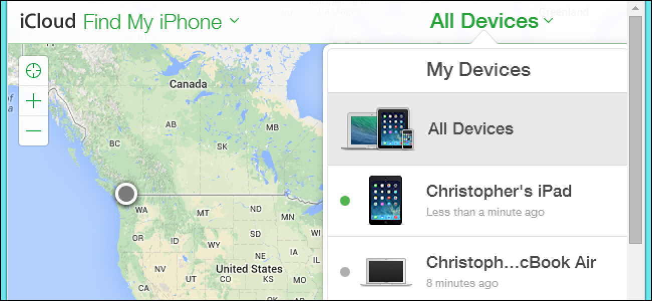 find my iphone from mac how to track disable and wipe a lost iphone or mac 16924