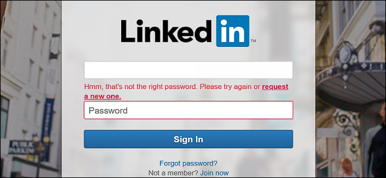 How To Recover Your Forgotten LinkedIn Password
