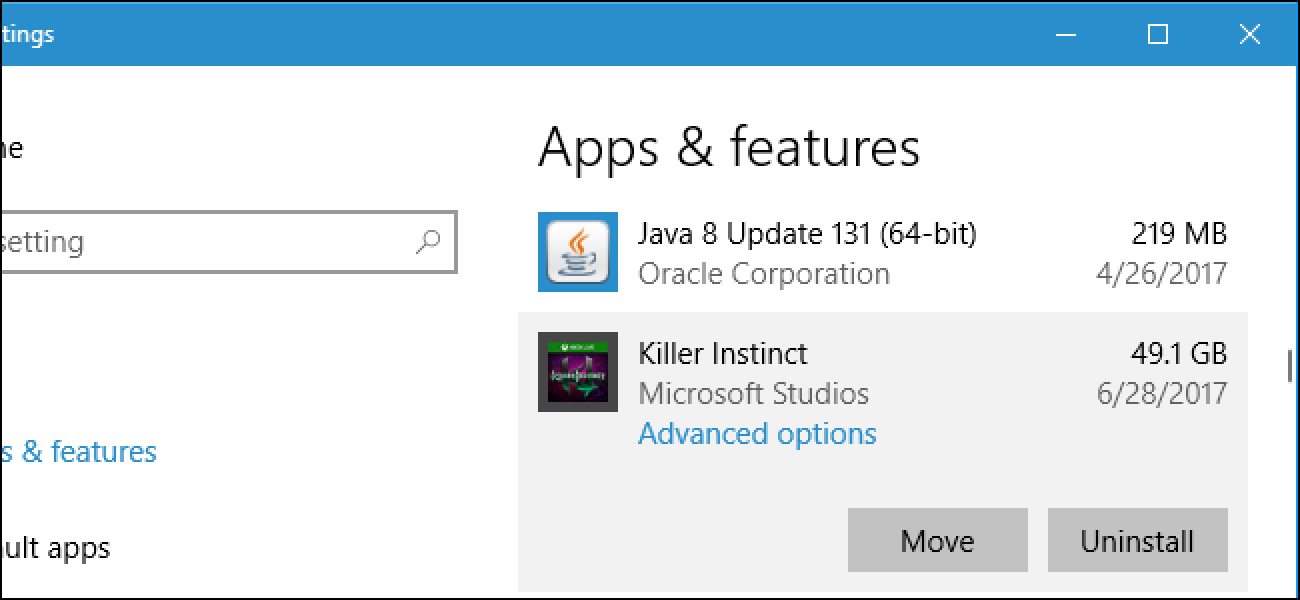 How To Install Or Move Apps To Another Drive On Windows 10