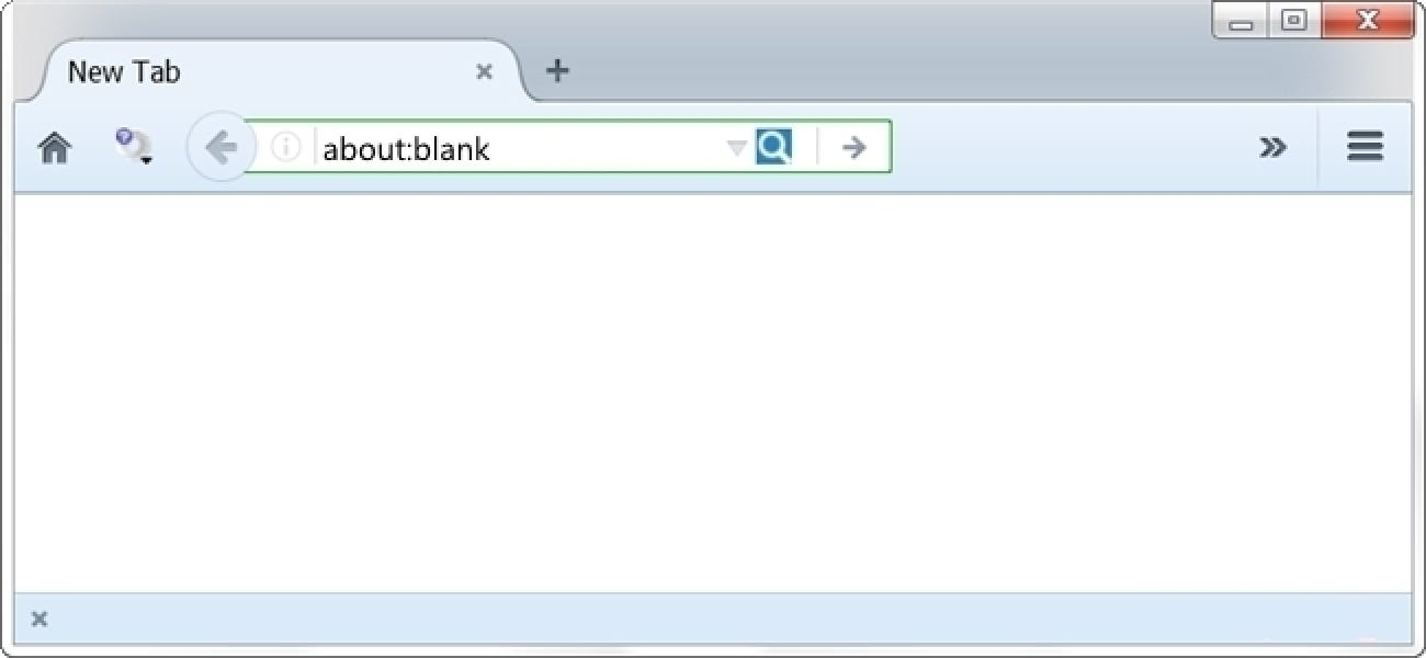 What Is The About:Blank Page In Web Browsers For?