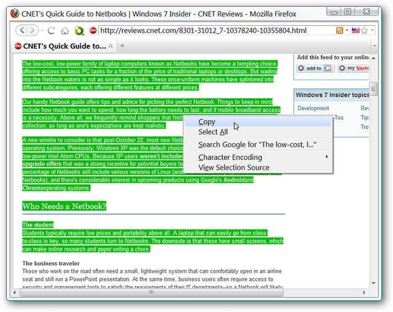 Remove Text Formatting in Firefox the Easy Way