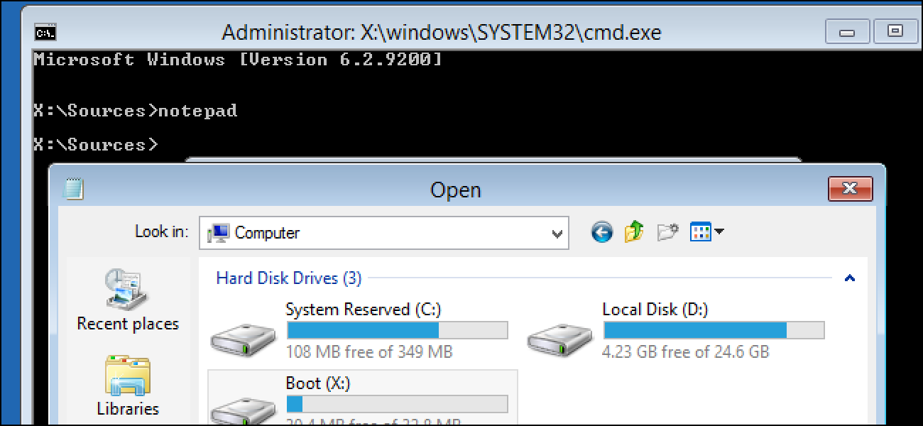 How to Use a Windows Installer Disc to Back Up Your Files