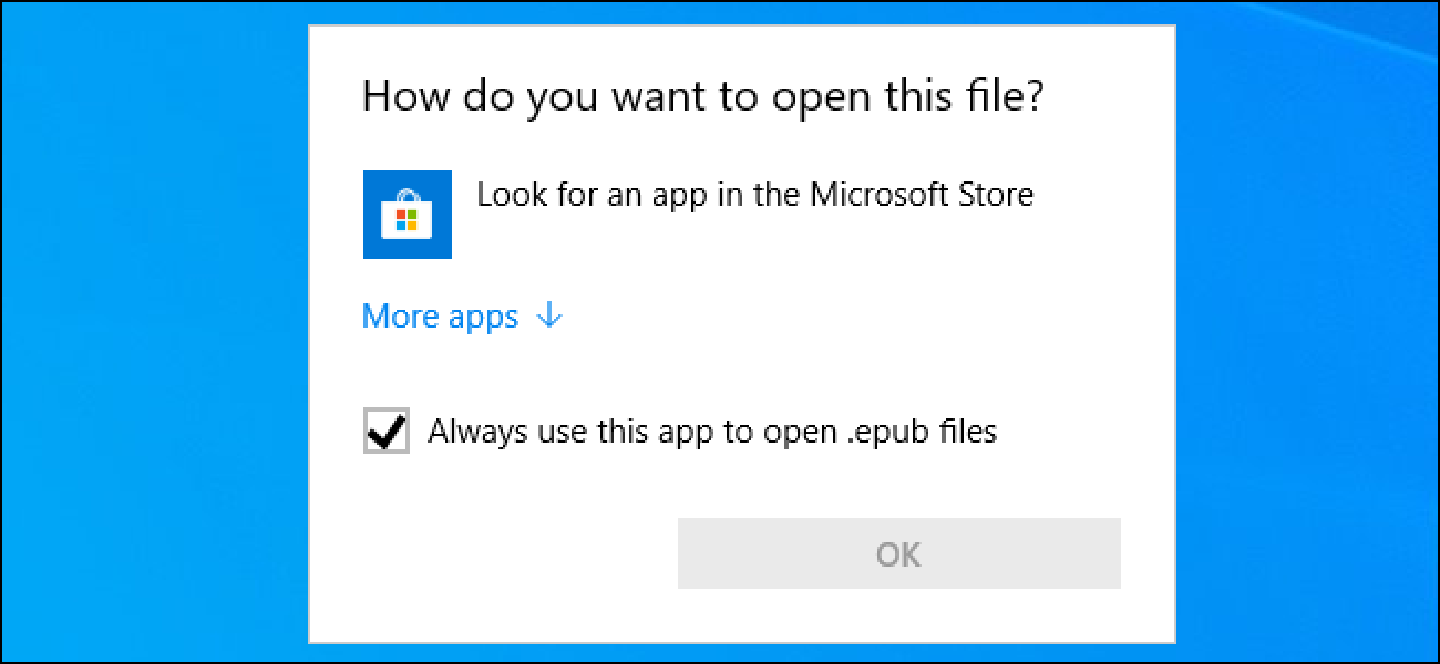 How to Open EPUB Files on Windows 10 (Without Microsoft Edge) - How-To Geek