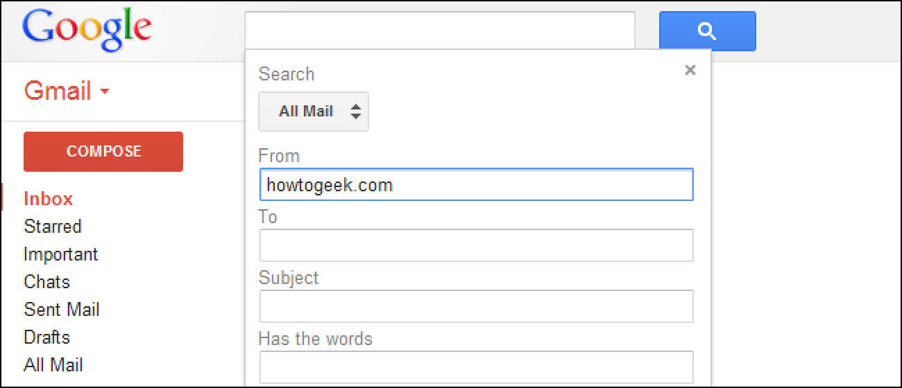 How To Use Gmails Advanced Search Features Create Filters