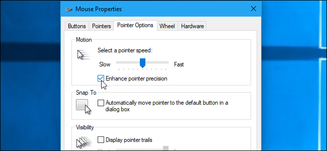 "What Is ""Enhance Pointer Precision"" in Windows?"