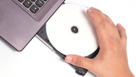 how to open cd drive on hp laptop windows 8