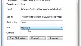 how to open excel maximized
