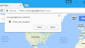 how to stop websites changing location