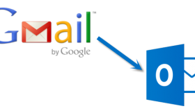 how to use outlook 2010 for gmail in windo 10ws