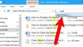 how to disable search history on chrome