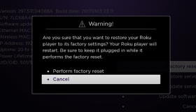 How to Factory Reset Your Roku