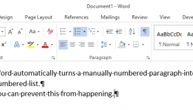 how to turn off automatic indent on word