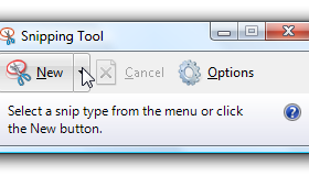 how to set shortcut for snipping tool