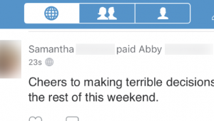 Cell phone jam   How to make your Venmo transactions private