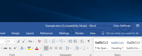 """What Is """"Compatibility Mode"""" in Microsoft Office?"""