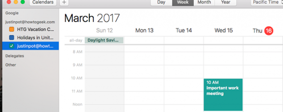 Byte Size Tips: How to Add Your Google Calendar to the Calendar on macOS