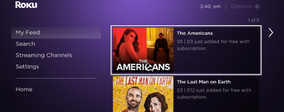 How to Use Roku Feed to Keep Up with New Episodes of Your Shows