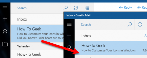 How to Disable Message Previews in Windows 10 Mail