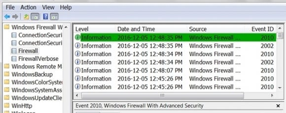 how do you reopen a windows firewall approve deny notification 00