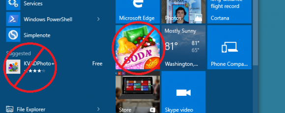 how to get rid of e with accent windows 10