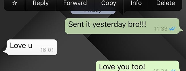 how to permanently delete whatsapp messages