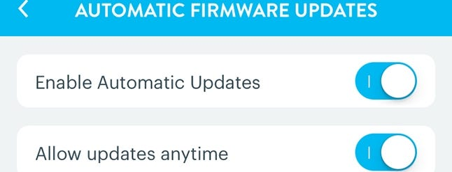 How to Enable Automatic Firmware Updates for Your Wink Hub