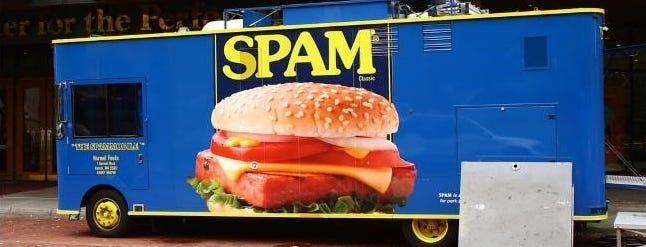 How much does junk mail and spam actually help companies and organizations?