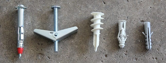 How To Install Drywall Anchors To Hang Heavy Stuff On Your