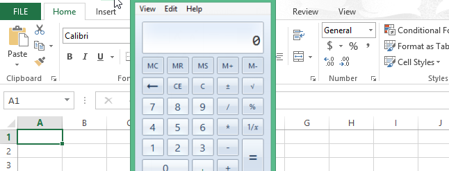 How to Add the Windows Calculator to the Quick Access Toolbar in ...