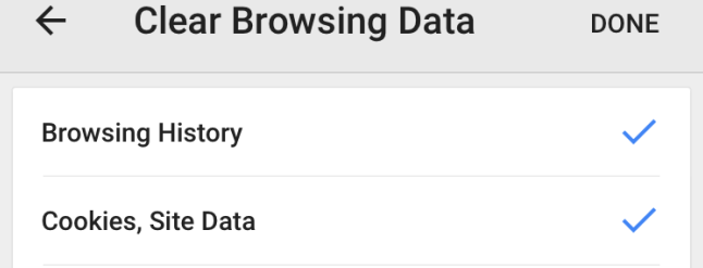 how to clear browsing history on iphone 5