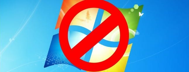 If you are still using Windows 7, Micro$oft is going to strongarm you to buy Windows 10.