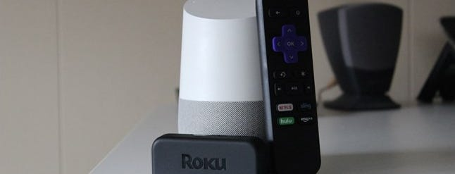 how to connect roku to google home