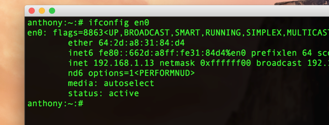 how to find mac address on iphone 7