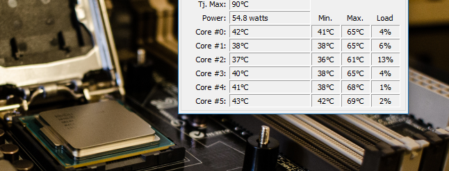 how to find computer temperature windows 8