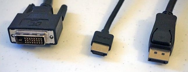 Hdmi Vs Displayport Vs Dvi Which Port Do You Want On Your