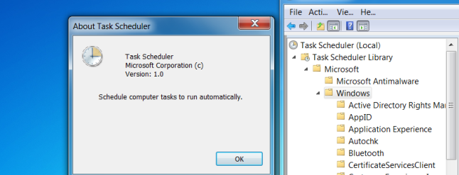 how to automate tasks in windows 7