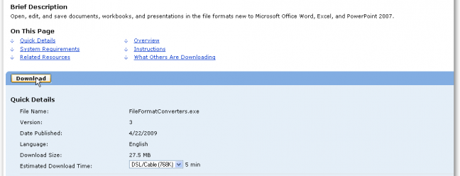 Quick Tip: How To Open a .DOCX file in Word 2003