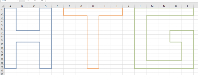 how to change cell border in excel