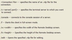 How to Remote Desktop to the Actual Server Console on Windows 2003