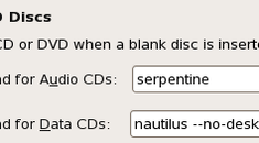 Disable AutoPlay of Blank CD or DVD media