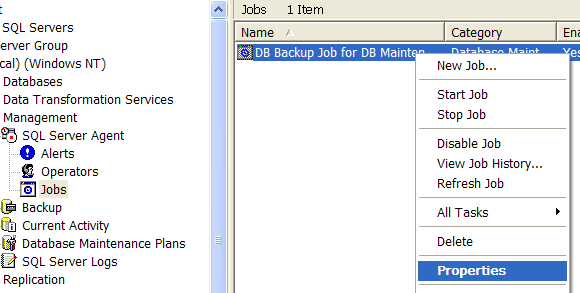 Sending Automated Job Email Notifications in SQL Server with