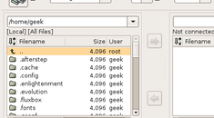 Install and Use the gFTP Client on Ubuntu Linux