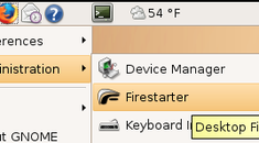 Install the Firestarter Firewall on Ubuntu Linux