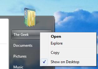 how to add icons onto desktop windows 8