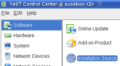 Configure Suse to Use Internet Repositories Instead of CD/DVD