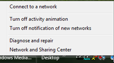 Quickly Open Network Connections List in Windows 7 or Vista